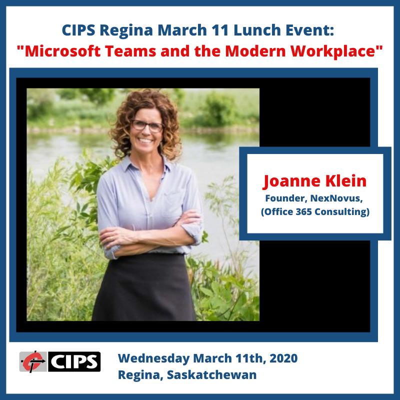 CIPS SK Regina March 11 2020